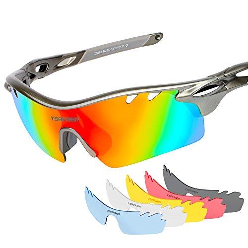 Baleaf Sports Polarized Sunglasses UV400 Protection Unbreakable Full Rim Driving Bicycle Eyewear