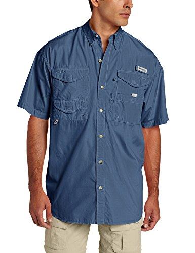 790c8979218 Columbia Men's Bonehead Short Sleeve Shirt, Dark Mountain, XX-Large ...