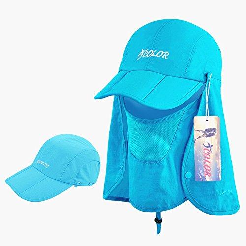 Fishing Farmer Wide Brim Cap Neck Face Flap Outdoor Work Sun Protection Hats Cap