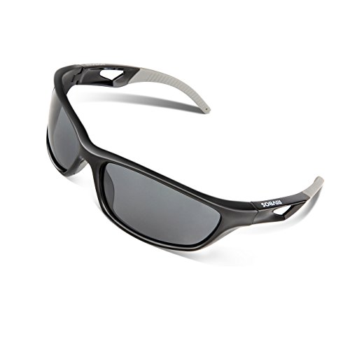cb7e73f75c RIVBOS Polarized Sports Sunglasses Driving Sun Glasses for Men Women ...