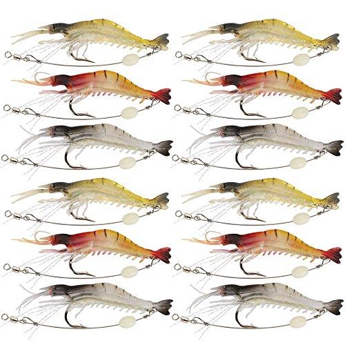 "Lot 6 Saltwater Soft Plastic Fishing Lure 4/"" Tiddler Swim Bait Fluke Fish Tackle"