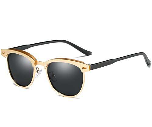 Retro Rewind Women Men Vintage Round Classic Mirror Sunglasses UV400 Free Pouch