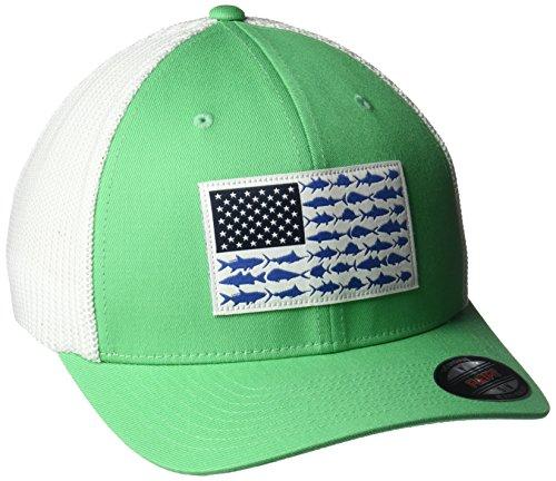 Columbia PFG Unisex Black Hat Cap Professional Fishing Gear Size S//M UPF50 Fish
