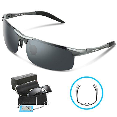 798e6fc1e3 Torege Men s Sports Style Polarized Sunglasses For Cycling Running ...