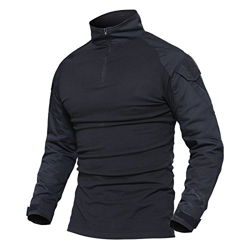 81c21ec6f21 1. The combat shirt is lightweight and Breathable Offering You Superior  Comfort And Range Of Motion. 3. Sleeves have pockets and patches for your  ID or unit ...