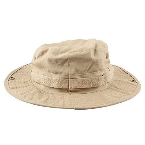 7b66ecdd8a5 squaregarden Military Camo Adjustable Boonie Hat Hunting Bucket Hats ...