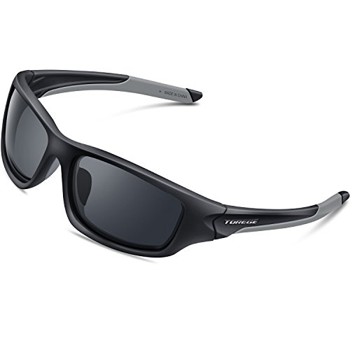 7a41879d74 Torege Polarized Sports Sunglasses With 5 Interchangeable Lenes for ...