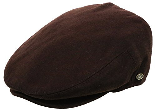 d4641ca2 Made of 100% wool, and 50% wool & 50% cotton for plaid brown color. This  ivy hat features stiff and wool blend material. This simple stylish canvas  ivy cap ...