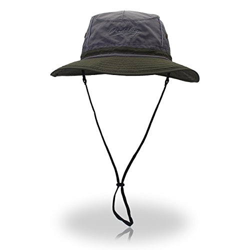 29f6ff34b4dc9 Lethmik outdoor waterproof boonie hat wide brim breathable hunting fishing  safari sun hat  ...