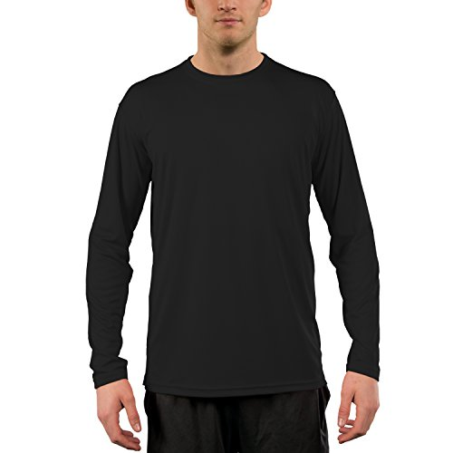 435520e728f ... UPF 50+ UV Sun Protection Long Sleeve T-Shirt XX-Large Carbon.  Lightweight and breathable  Great for a day of fishing