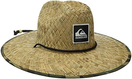 Special features include  straw lifeguard hat with front leather debussed  logo Adjustable chin strap. Similar products. Quiksilver Young Men s  Pierside ... 964a60e24d54