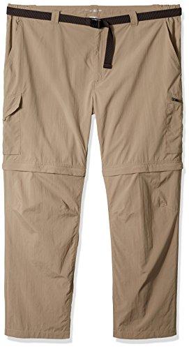3610cb02e Columbia Men's Silver Ridge Big & Tall Convertible Pants, Sage, 46 x ...