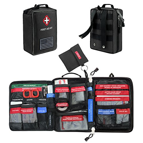 4Pcs Tourniquet Tactical Emergency Spin Military One-Hand Medical First Aid Kit