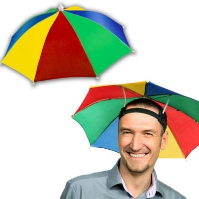 33594d34f6515 Weight 110g. Package content 1 x Umbrella Hat. Windproof   cool - great  idea with double - layer design and the top Layer ...