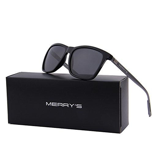 ff9c6795c4 wearpro Wayfarer Sunglasses for Men Vintage Polarized Sun Glasses ...