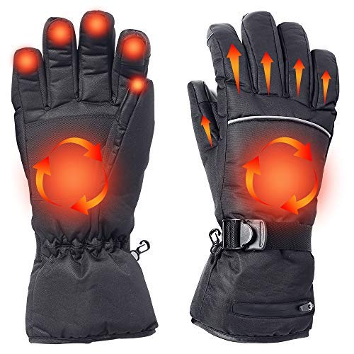 Hands Warmer in Cold Weather for Men and Women Motorcycle Touch Screen Gloves Windproof Warm Gloves Winter Glove Liners Thermal Polar Fleece