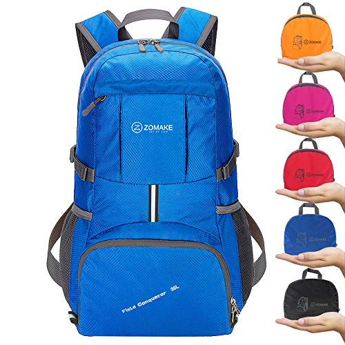 Zomake 30l Lightweight Packable Backpack Water Resistant
