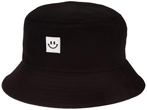 Cute Embroidered Bucket Hat Funny Pattern Fisherman Cap Packable Reversible Sun Hats for Women Men